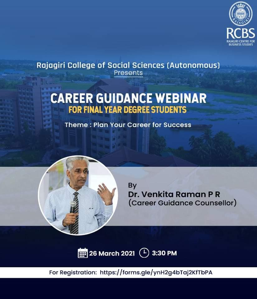 Career Guidance Webinar
